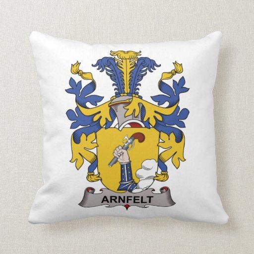 Escudo de la familia de Armfelt Cojin