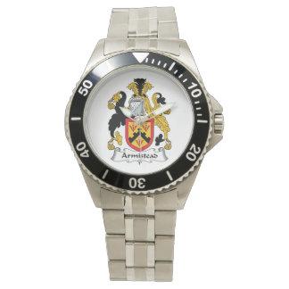 Escudo de la familia de Armistead Reloj De Mano