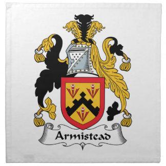 Escudo de la familia de Armistead Servilletas De Papel