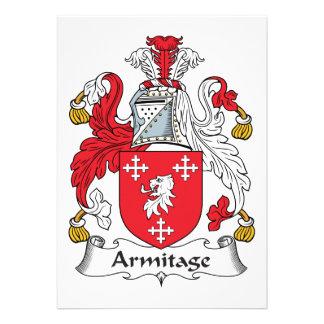 Escudo de la familia de Armitage Comunicado Personalizado