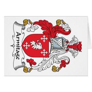 Escudo de la familia de Armitage Tarjeton