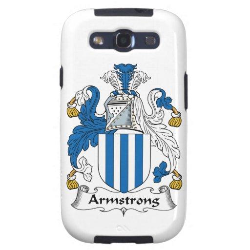 Escudo de la familia de Armstrong Galaxy S3 Cárcasas