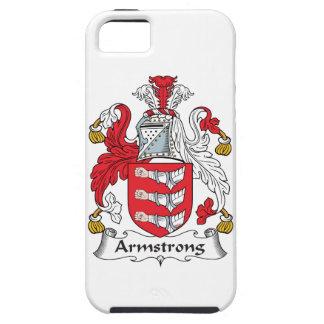 Escudo de la familia de Armstrong iPhone 5 Fundas