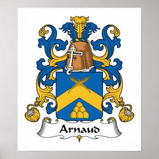 Escudo de la familia de Arnaldo Impresiones