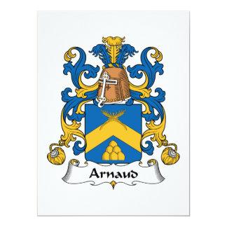 Escudo de la familia de Arnaldo Invitaciones Personalizada