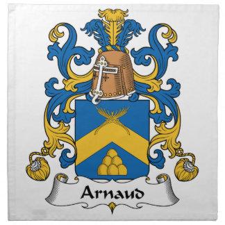 Escudo de la familia de Arnaldo Servilleta De Papel