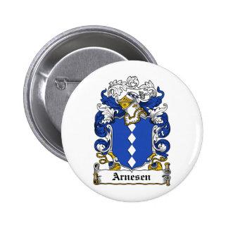 Escudo de la familia de Arnesen Pin