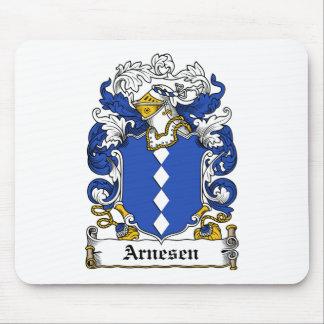 Escudo de la familia de Arnesen Tapete De Ratones