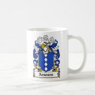 Escudo de la familia de Arnesen Taza De Café