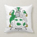 Escudo de la familia de Arnest Almohadas