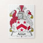 Escudo de la familia de Arnet Puzzles Con Fotos