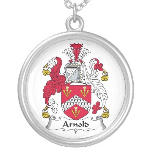 Escudo de la familia de Arnold Colgante Redondo