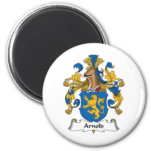 Escudo de la familia de Arnold Imán Redondo 5 Cm