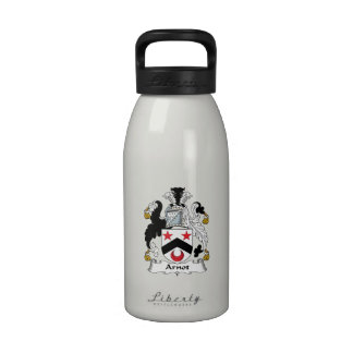 Escudo de la familia de Arnot Botellas De Agua Reutilizables