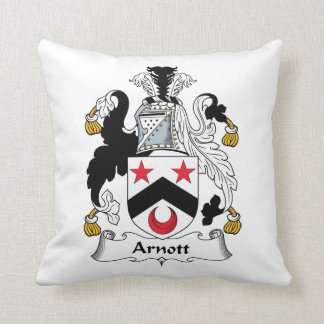 Escudo de la familia de Arnott Cojín