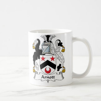 Escudo de la familia de Arnott Taza