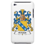 Escudo de la familia de Arnoud iPod Touch Case-Mate Protectores