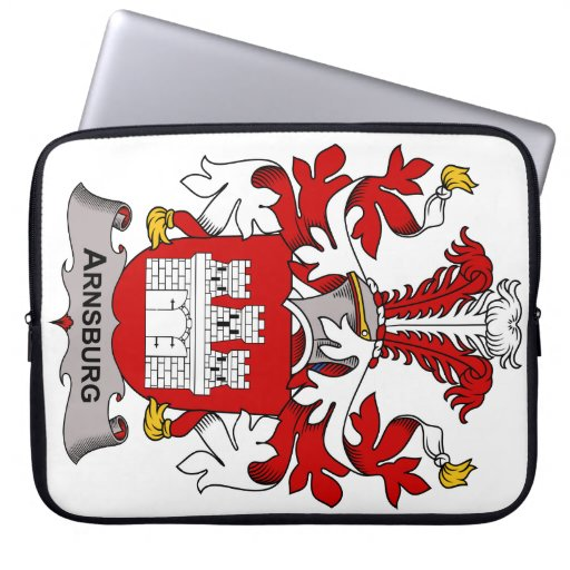 Escudo de la familia de Arnsburg Funda Computadora