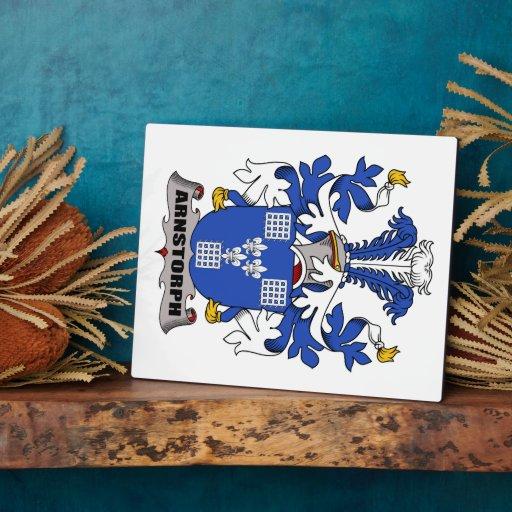 Escudo de la familia de Arnstorph Placa Para Mostrar