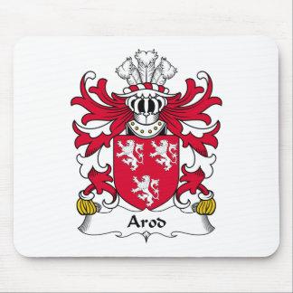 Escudo de la familia de Arod Alfombrilla De Ratón