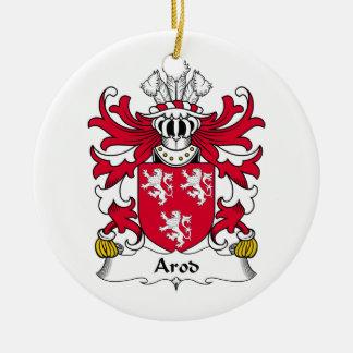 Escudo de la familia de Arod Ornaments Para Arbol De Navidad