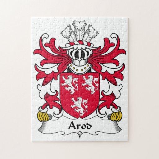 Escudo de la familia de Arod Rompecabeza