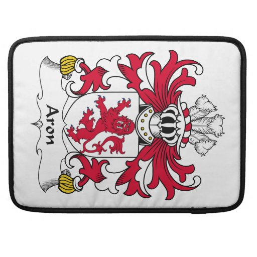 Escudo de la familia de Aron Fundas Para Macbooks