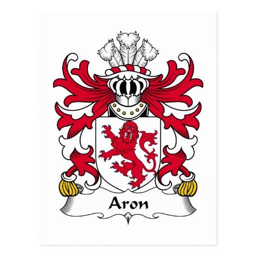 Escudo de la familia de Aron Postal
