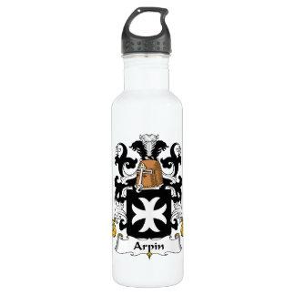 Escudo de la familia de Arpin Botella De Agua