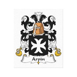 Escudo de la familia de Arpin Lona Estirada Galerías