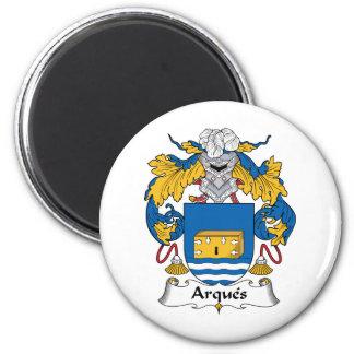 Escudo de la familia de Arques Imanes Para Frigoríficos