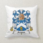 Escudo de la familia de Arquet Almohada