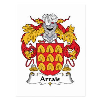 Escudo de la familia de Arrais Postal