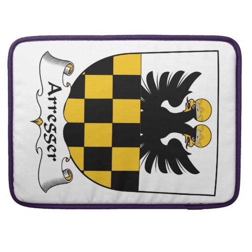 Escudo de la familia de Arregger Fundas Para Macbooks