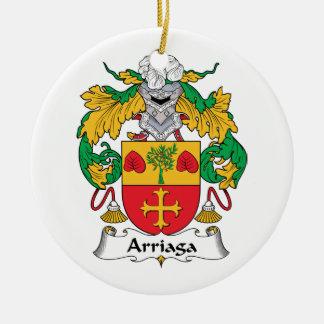 Escudo de la familia de Arriaga Ornamentos Para Reyes Magos
