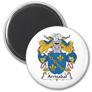 Escudo de la familia de Arrizabal Imán Para Frigorífico