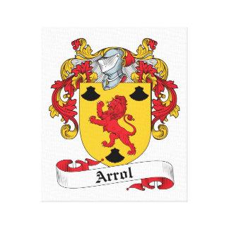 Escudo de la familia de Arrol Lona Estirada Galerias