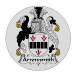 Escudo de la familia de Arrowsmith Fichas De Póquer