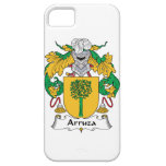 Escudo de la familia de Arruza iPhone 5 Carcasas