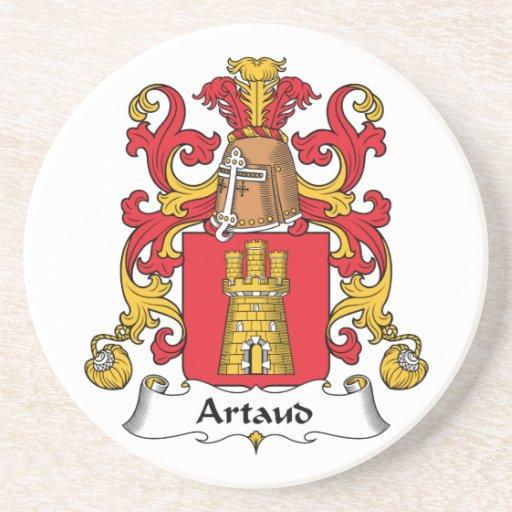 Escudo de la familia de Artaud Posavaso Para Bebida