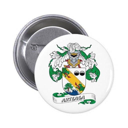 Escudo de la familia de Arteaga Pins