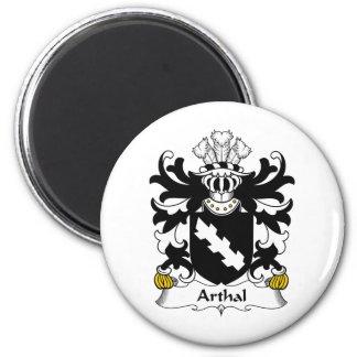 Escudo de la familia de Arthal Imán Redondo 5 Cm