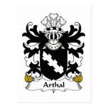 Escudo de la familia de Arthal Postal