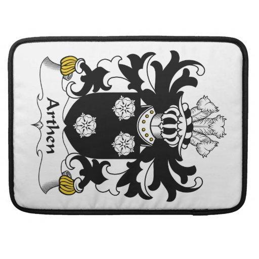 Escudo de la familia de Arthen Funda Para Macbooks