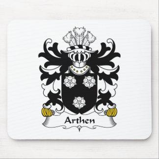 Escudo de la familia de Arthen Alfombrillas De Ratones