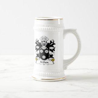Escudo de la familia de Arthen Jarra De Cerveza
