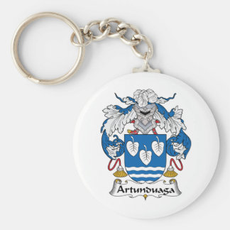 Escudo de la familia de Artunduaga Llavero Redondo Tipo Pin