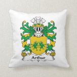 Escudo de la familia de Arturo Cojines