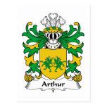 Escudo de la familia de Arturo Postal