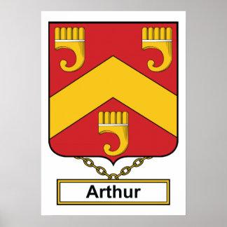 Escudo de la familia de Arturo Póster